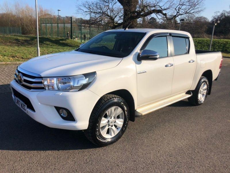 2017 Toyota Hilux 2.4L D-4D Icon Double Cab Pickup 4dr