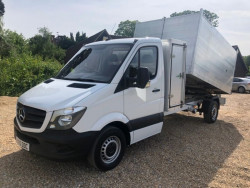 2015 Mercedes Sprinter 2.2L 2.1Td 313Cdi Tree Surgeon Tipper With Toolbox image 1