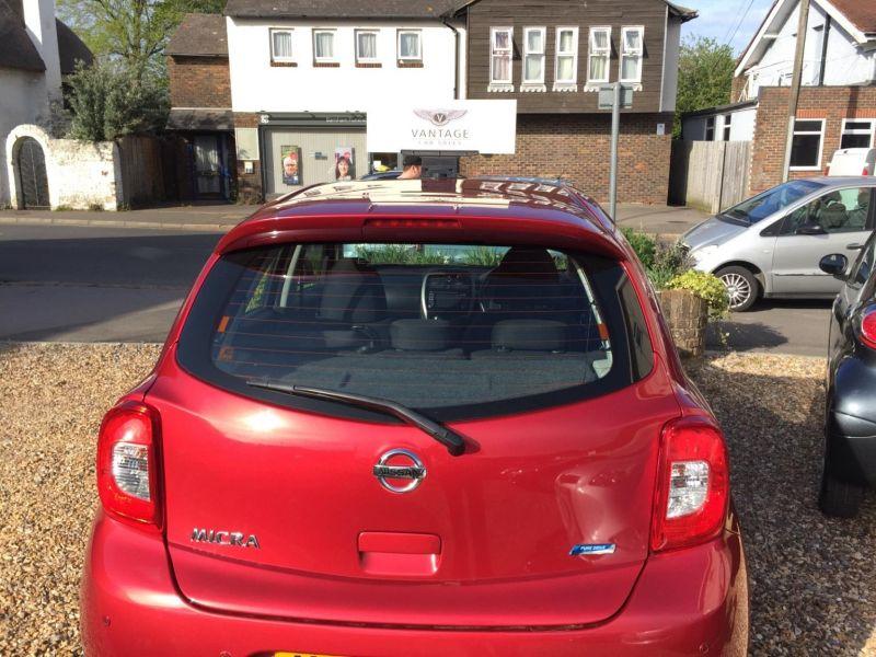 2013 Nissan Micra Acenta 5dr image 4