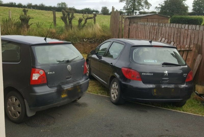 2004 VW Polo 1.2 and Peugeot 2.0 Diesel Two Cars For One Price