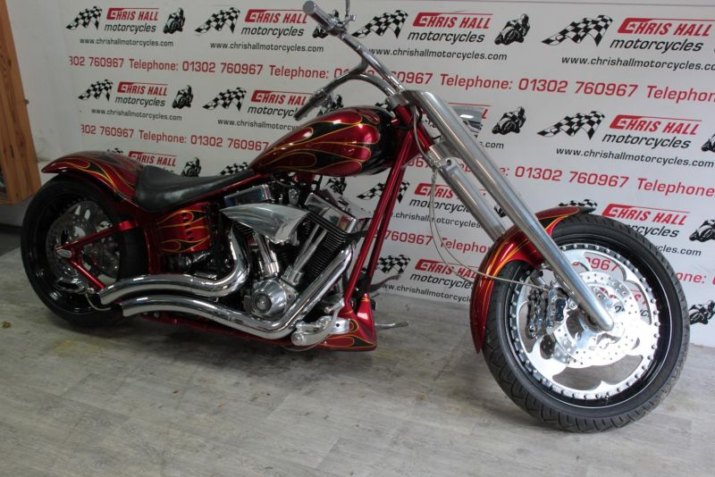 1990 Harley-Davidson Softail Flstc image 3
