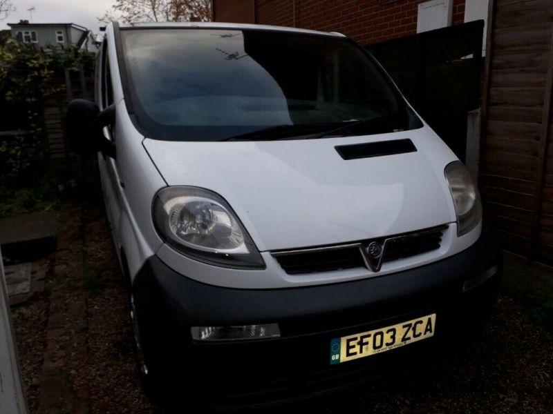 2003 Vauxhall Vivaro image 3