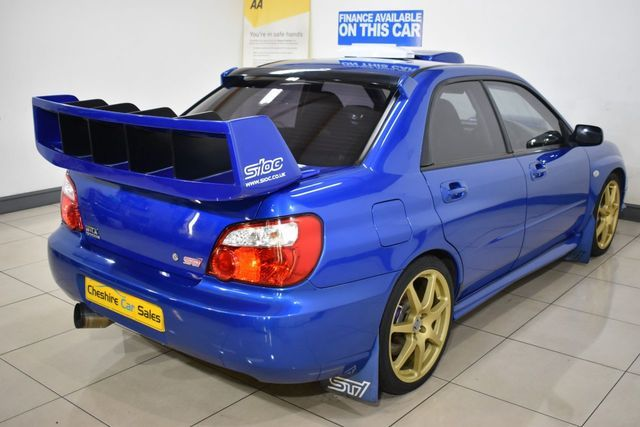 2003 Subaru Impreza 2.0 Wrx Sti Type Uk 4dr 265 BHP image 5