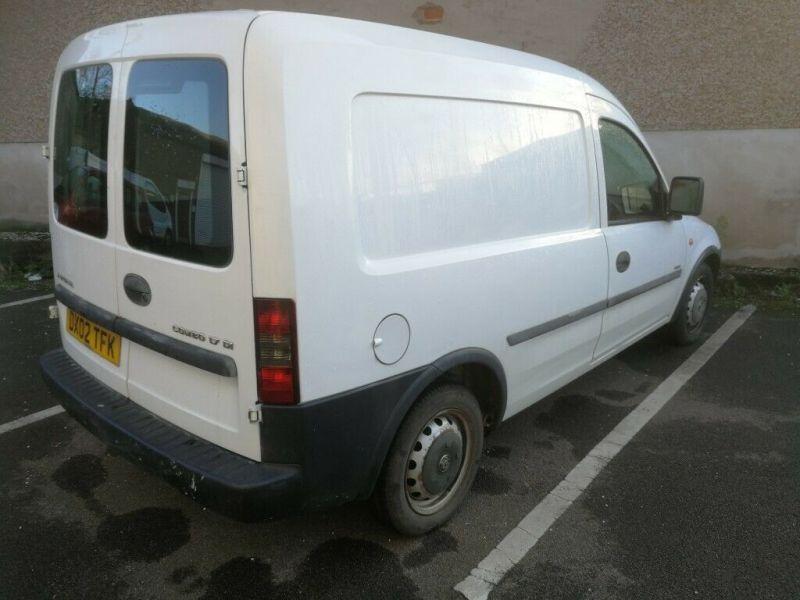 2002 Vauxhall Combo 1.7 image 2