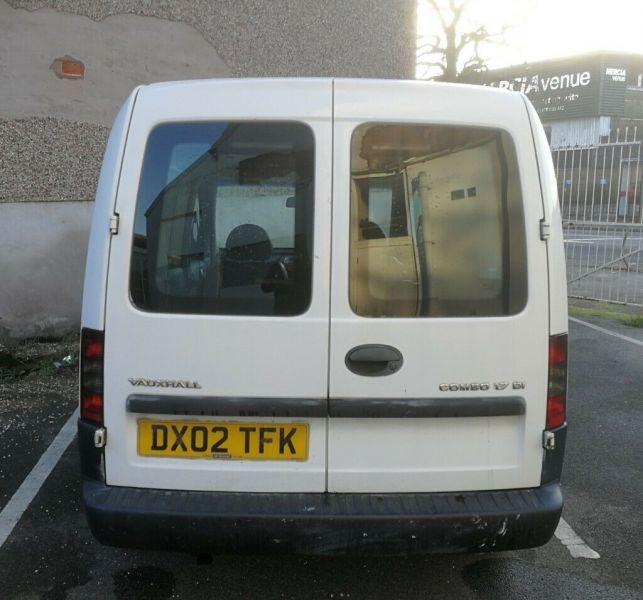 2002 Vauxhall Combo 1.7 image 6