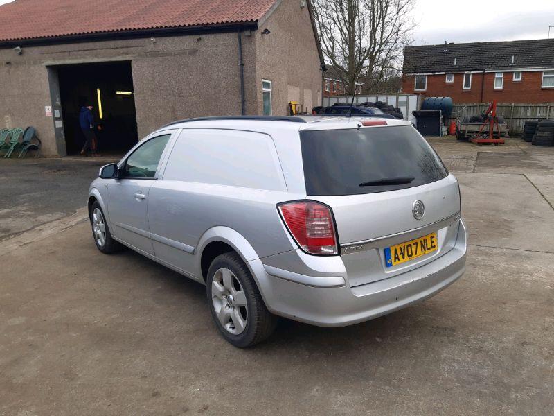 2007 Vauxhall Astra Van 1.9 image 4