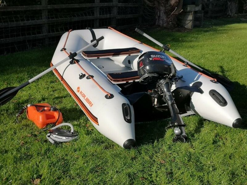 2019 Inflatable Boat with Inflatable Hull