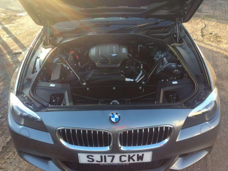 2017 BMW 5 Series 2.0 520d M Sport Touring 5dr image 2