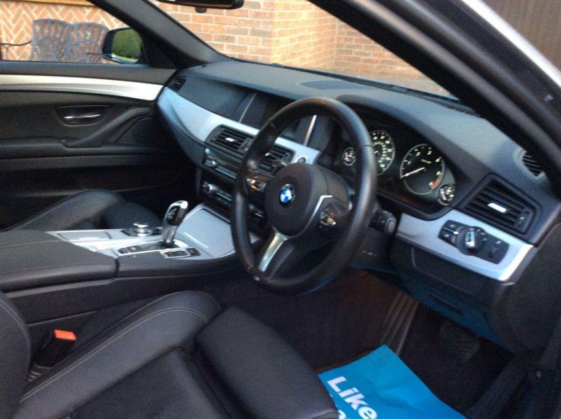 2017 BMW 5 Series 2.0 520d M Sport Touring 5dr image 4