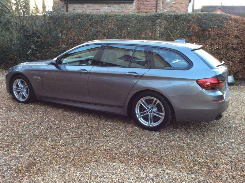 2017 BMW 5 Series 2.0 520d M Sport Touring 5dr image 16