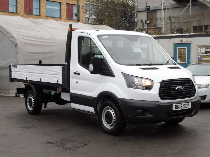 2018 Ford Transit 350/130 Single Cab Tipper 2.0 Tdci