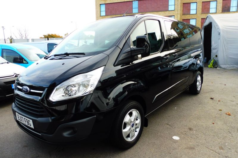 2017 Ford Transit Custom 310 Limited 6 Seat Combi 2.0 Tdci