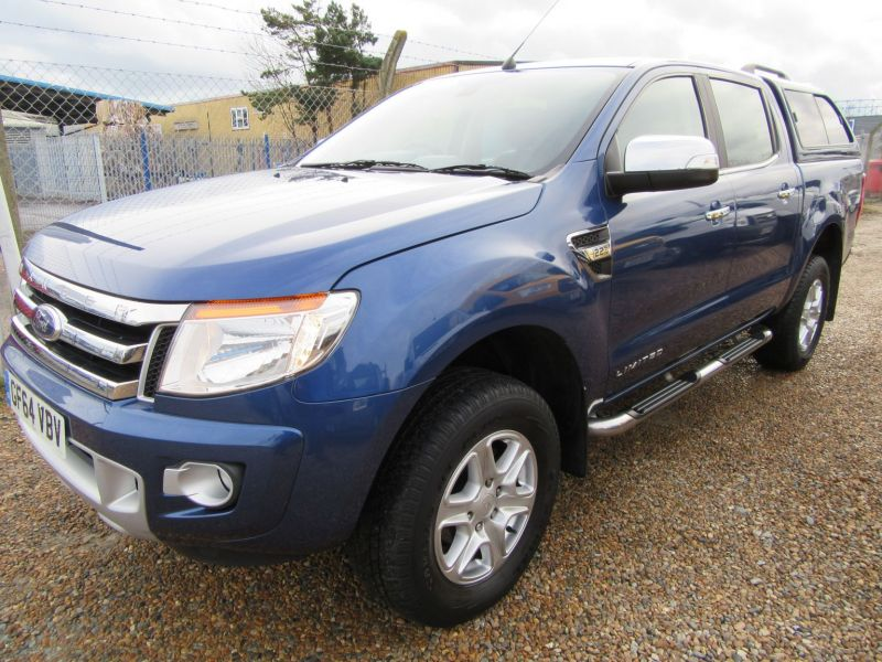 2014 Ford Ranger LIMITED 4X4 D-CAB TDCI image 2