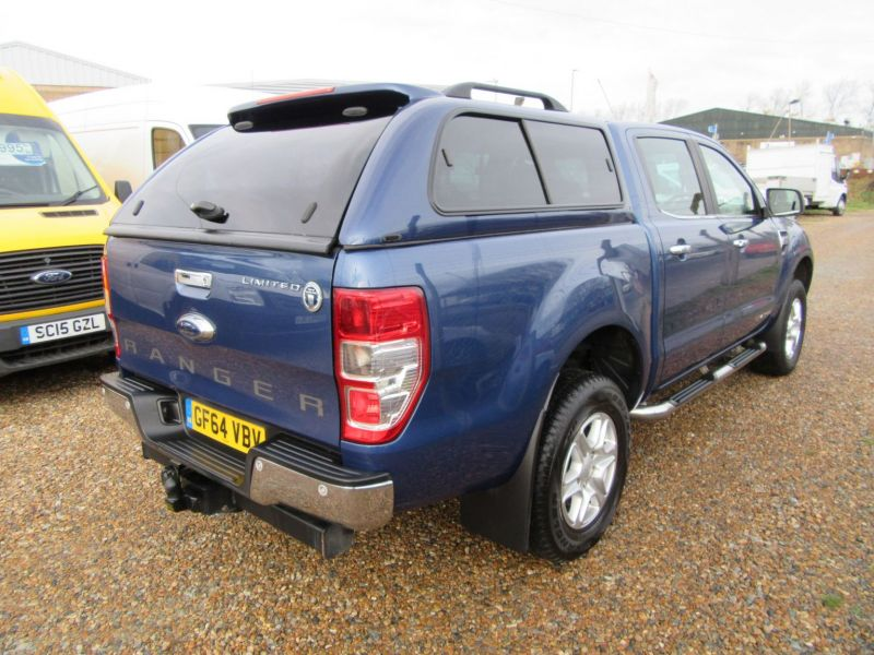 2014 Ford Ranger LIMITED 4X4 D-CAB TDCI image 6