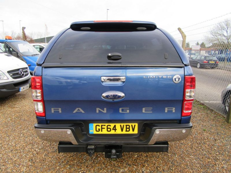 2014 Ford Ranger LIMITED 4X4 D-CAB TDCI image 7