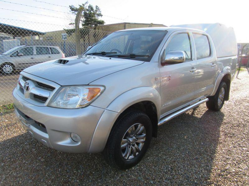 2007 Toyota Hi Lux Invincible D-4D 4x4 Double-Cab image 9