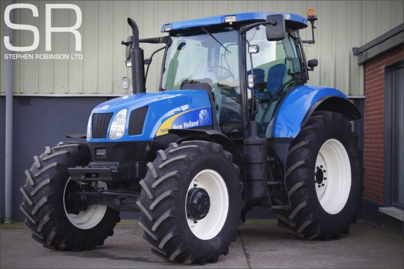 2010 New Holland T6080 50K image 1