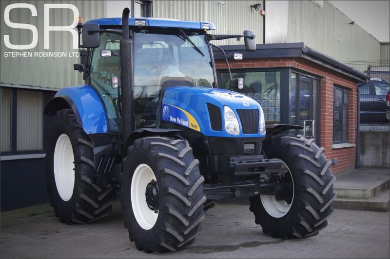 2010 New Holland T6080 50K image 3