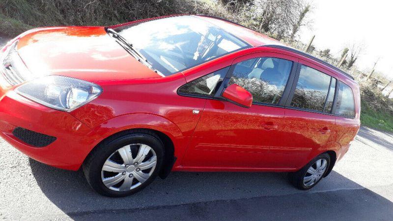 2014 Vauxhall Zafira image 1