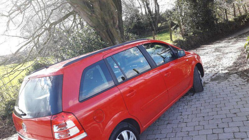 2014 Vauxhall Zafira image 4