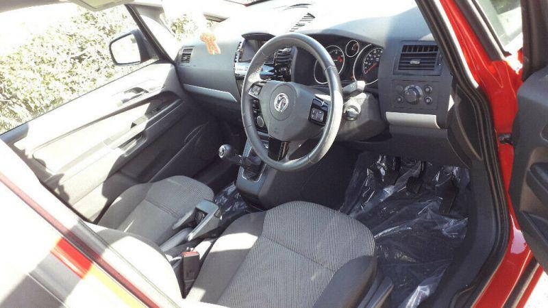 2014 Vauxhall Zafira image 7