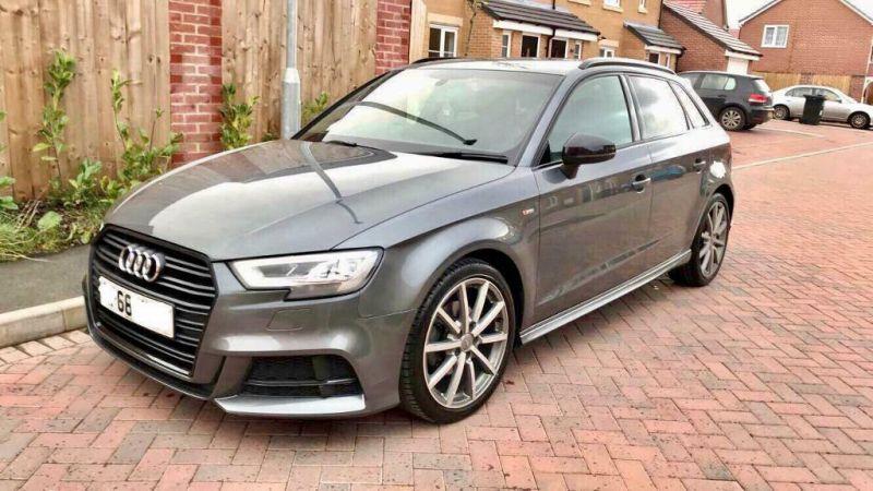 2018 Audi A3 1.6 Sline Black Edition DSG image 1