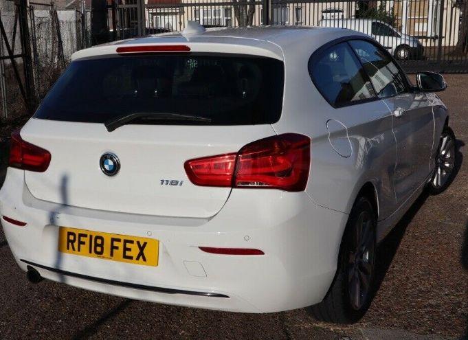 2018 BMW 1 Series 1.5 118i Sport Sports Hatch 3dr image 6