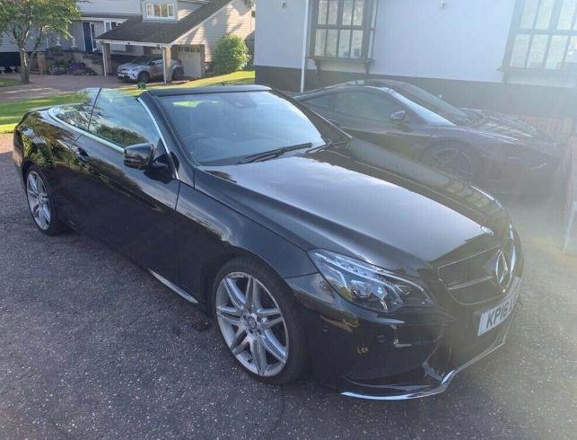 2016 Mercedes E350 Convertible image 4
