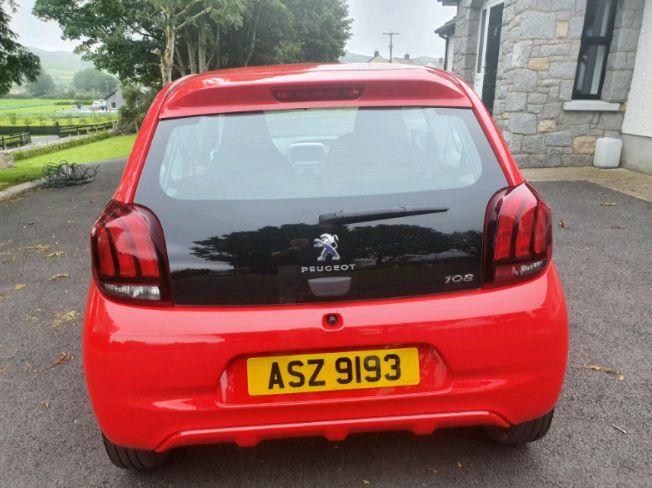 2017 Peugeot 108 1.0 litre Active image 2