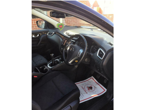 2017 Nissan Qashqai 1.5 dCi N-Vision 5dr (18in Alloys)