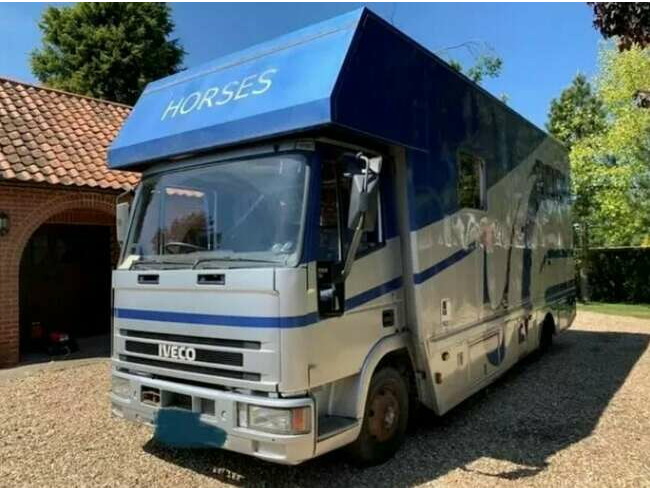 1998 Iveco 75E Horsebox
