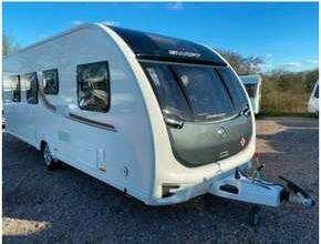 2017 Swift Challenger 560 - 4 Berth Fixed Island Bed Caravan