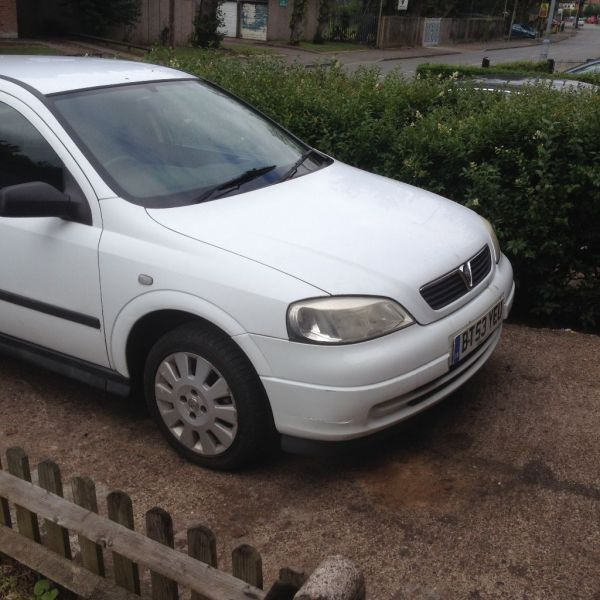 2003 Vauxhall Astra van 1.7 tdi mot feb 2016 image 3