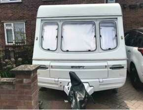 Swift Corvette Caravan Awning and Accessories - 4 Berth