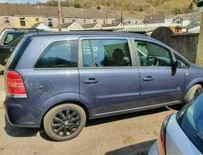 2007 Vauxhall Zafira Mpv 1598 (cc) 5dr