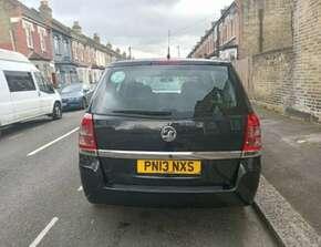2013 Vauxhall Zafira 1.6 Petrol / Manual