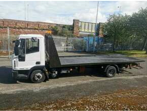 2012 Iveco 7.5Ton Tilt and Slide Semi-Auto Recover Truck