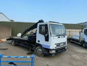 2002 Iveco 7,5 T Recovery Truck Diesel with Crane!