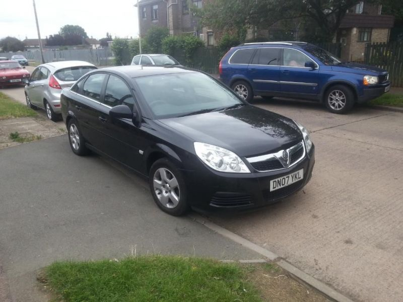 2007 Vectra 07 Plate 1.8 image 1