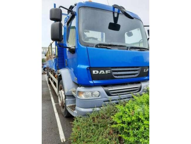 2009 DAF Lorry FA 55.250 18E with Terex Crane
