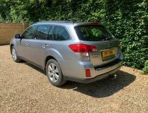 2010 Subaru Outback Estate - Manual 5 Doors