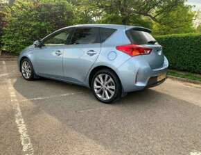 2012 Toyota Auris Excel 1.8 CVT 5dr Hatchback