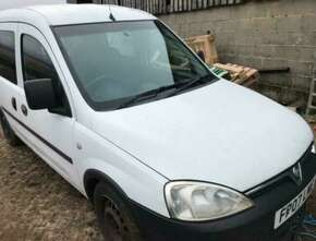 2007 Vauxhall Combo Spares or repair