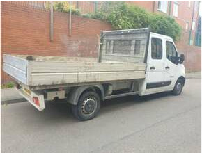 2014 Vauxhall Movano, Crew Cab Pickup Dropside Flatbed Truck
