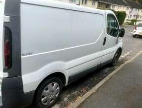 2004 Vauxhall Vivaro 2700 Dti Swb, Panel Van. Non-Runner