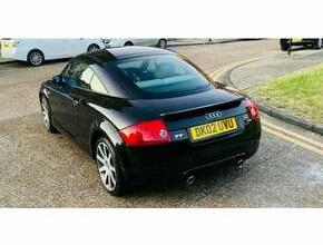 2002 Audi TT 225 1.8T BAM Quattro