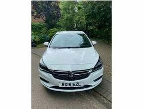 2016 Vauxhall ASTRA 1.4T 16V 150 Sri WHITE 5 door 6 speed