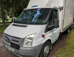 2010 Ford Transit Luton Box Van, £4495Ovno No Vat Ready to Go!!!