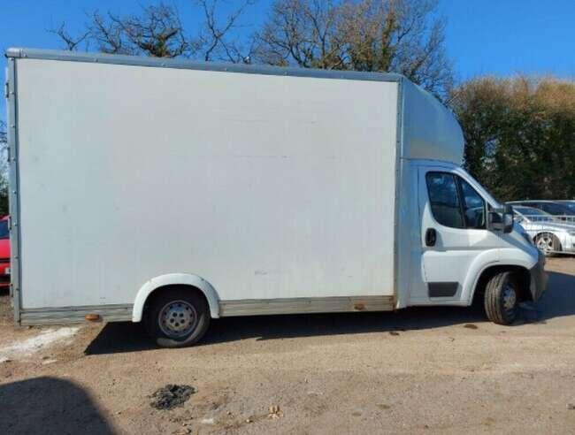 2018 Peugeot BOXER, Low Floor Luton Van