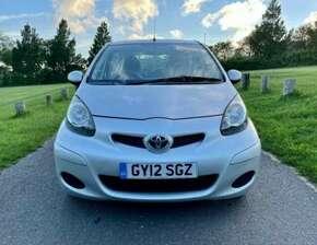 2012 Toyota Aygo 1.0 Petrol | £20 Road Tax | Full Service History